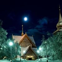 Church in Kiruna, Sweden